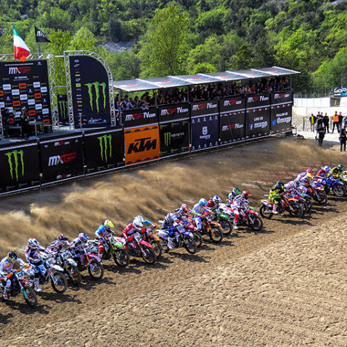 Davey Coombs on Europe MXGP Trentino, Italy
