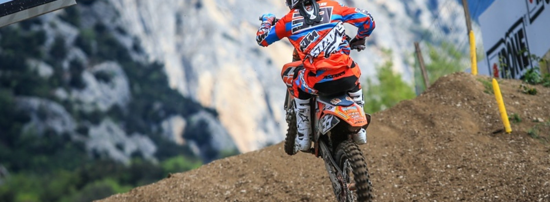 Ben Townley on Josiah Natzke KTM Factory Junior Team