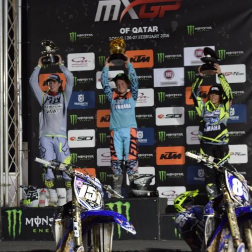 Courtney Duncan Wins World Women's Motocross Championship Opening Round at Qatar