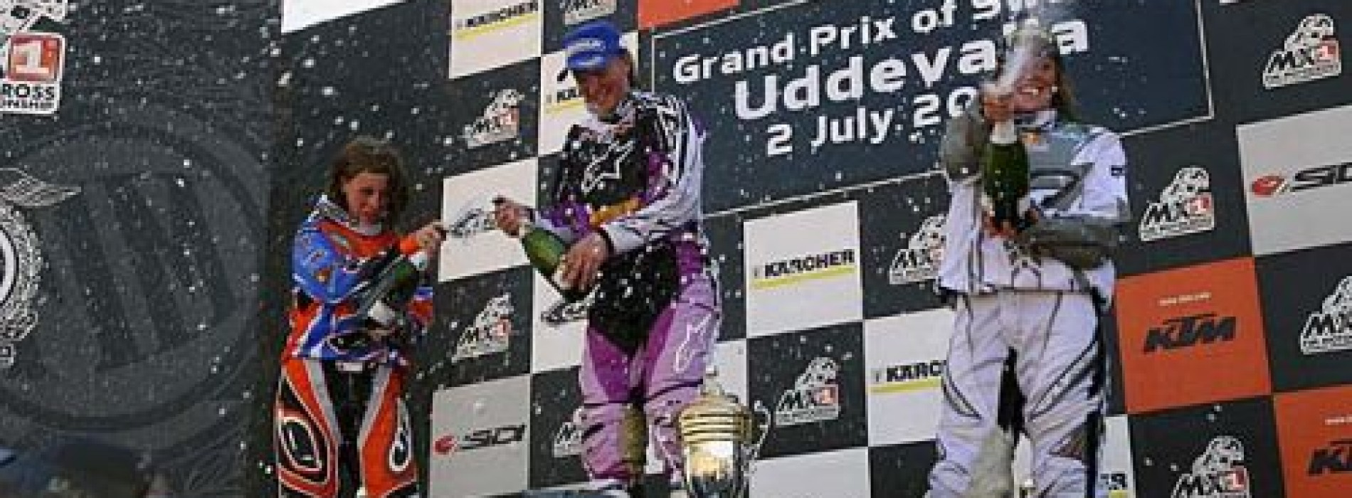 Women's World Motocross Champion 2006 and 2007: Katherine Prumm (now Oberlin-Brown)