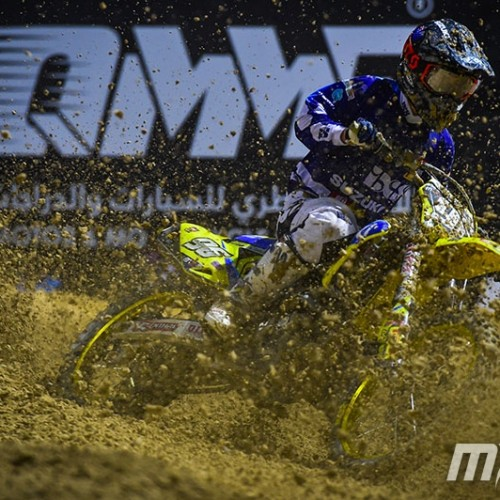Hunter Lawrence Team Suzuki World MXGP- MX2 at Qatar