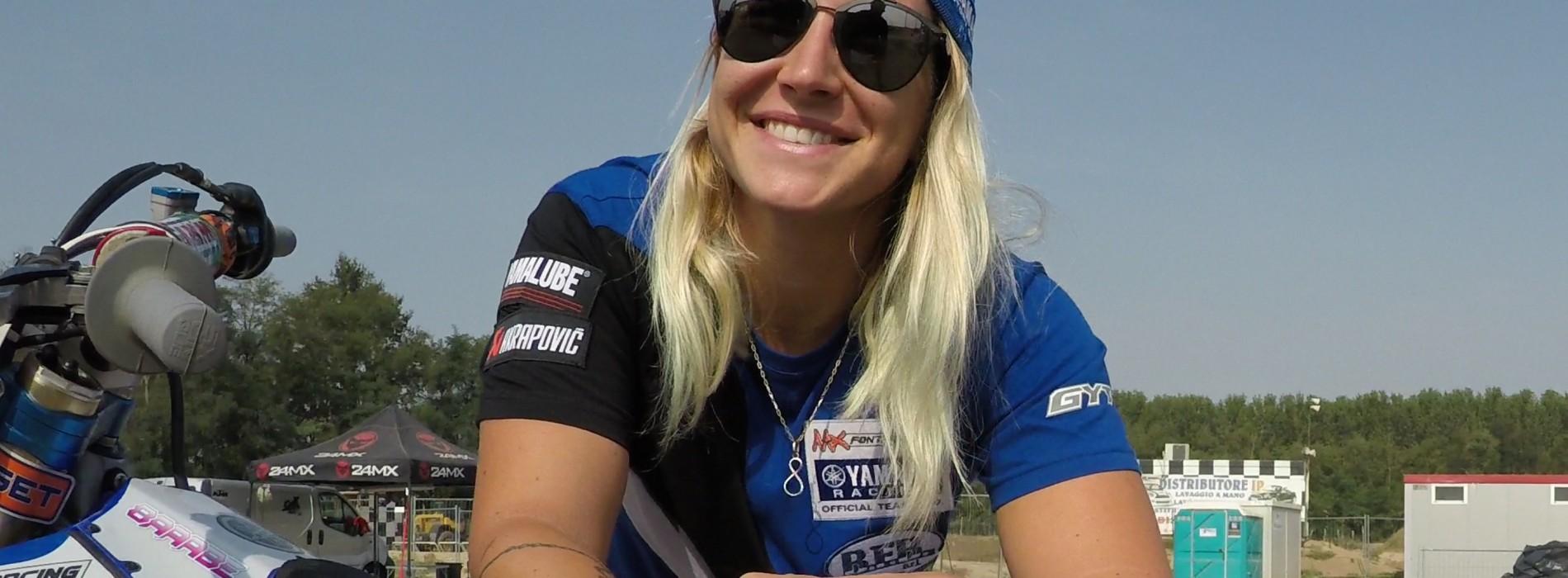 Kiara Fontanesi World Motocross Women Champion- in person