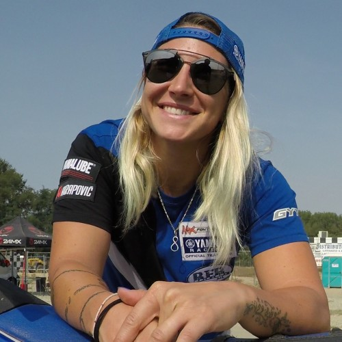 Kiara Fontanesi World Motocross Women Champion- in person