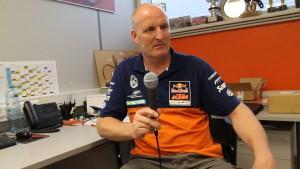 Dirk Gruebel KTM MX2 Team Manager
