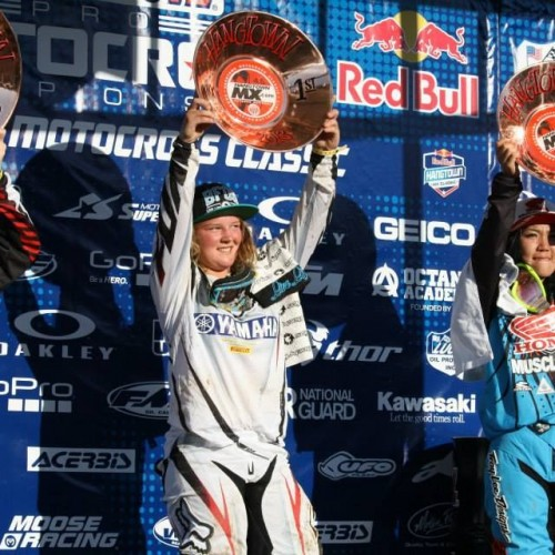 Hangtown re-lived NZ's Courtney Duncan 125cc win 2013