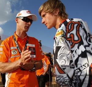 Ken Roczen with Stefan Everts Photo Credit: KTM