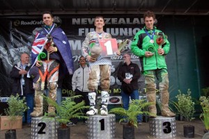 2009 FIM Junior World MX Championship Eli Tomac, Tye Simmonds, Hamish Dobbyn
