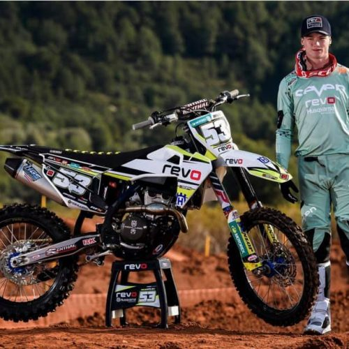 Dylan Walsh heading into 2019 MX2 Season with Revo Husqvarna