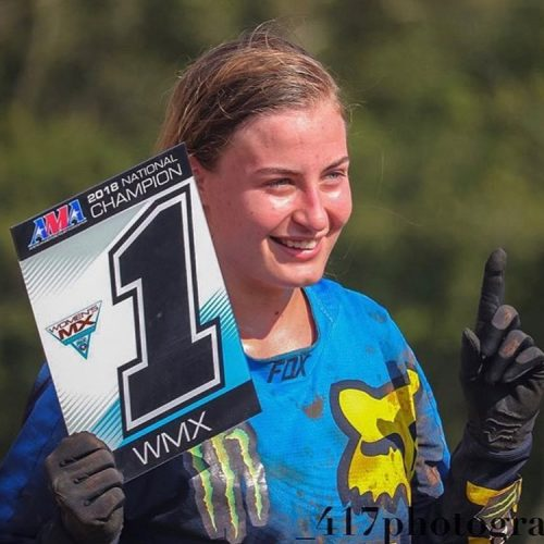 Jordan Jarvis AMA Women MX National Champion 2018