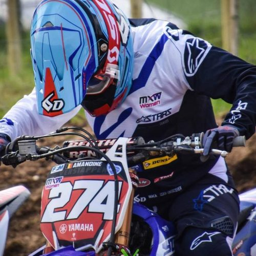 Amandine Verstappen Red Plate holder heading into WMX Round 2 this weekend