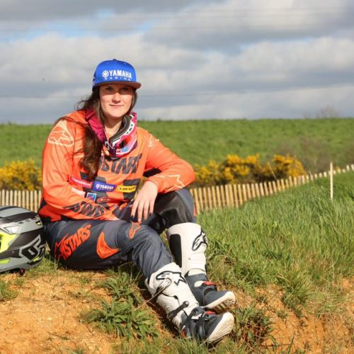 Amandine Verstappen tough weekend at WMX Round 2