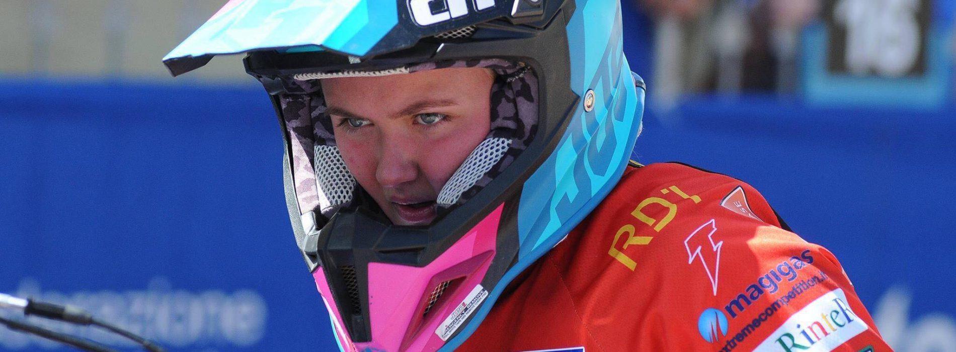 Lynn Valk ready to race EMX Women Round 3 and WMX Round 2