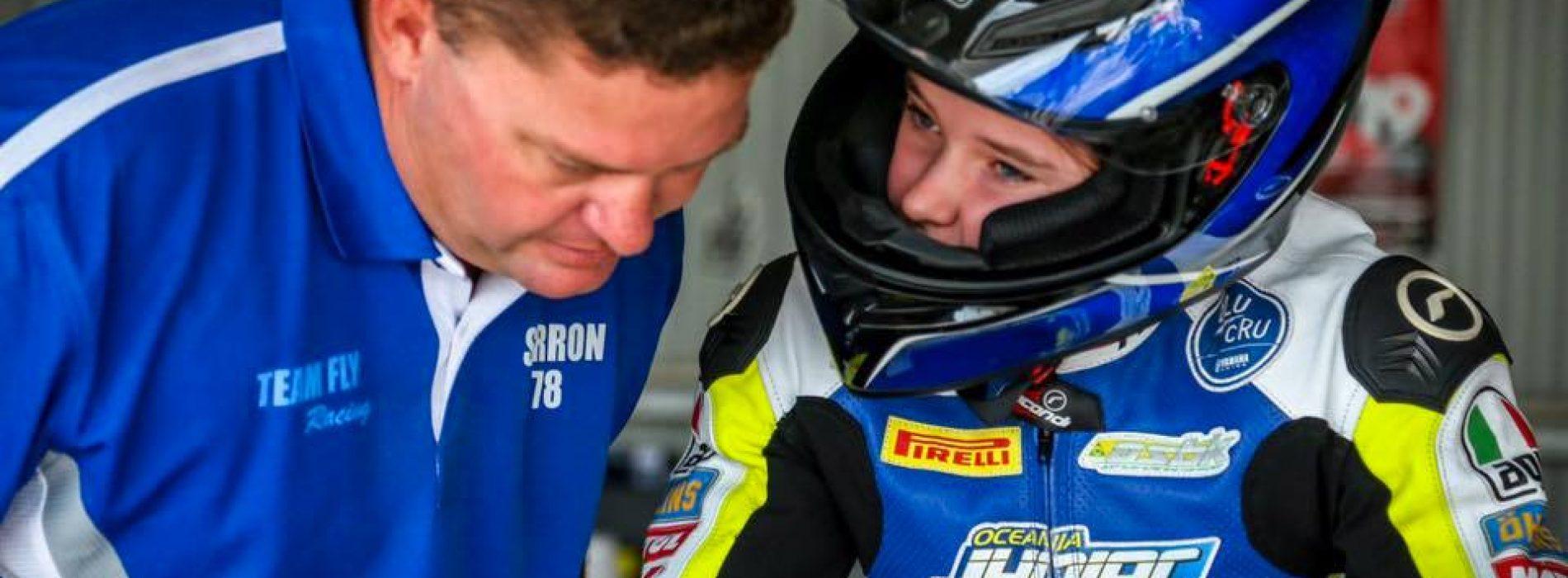 Pyper Kent Australia's up-coming Road Racing talent: how old?