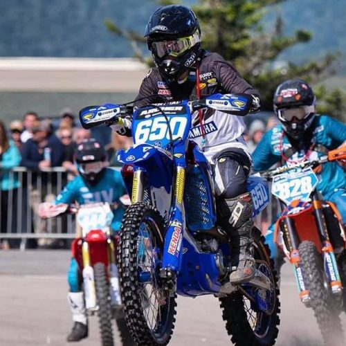 Rachael Archer- force to be reckoned with- GNCC WXC class- 2nd Overall at Snowshoe