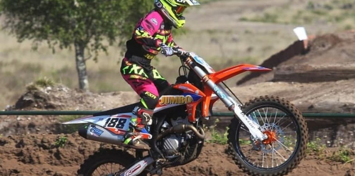 Shana van der Vlist currently 2nd Overall EMX Women with Final Round this weekend