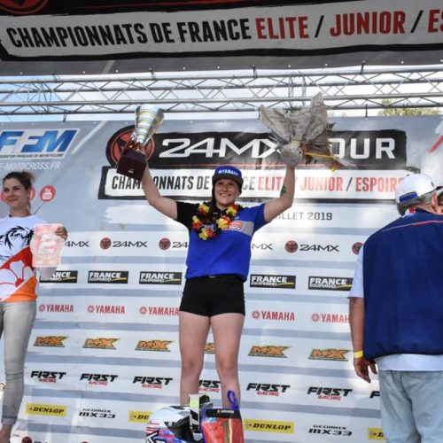 Amandine Verstappen 2019 French Women MX Champion!