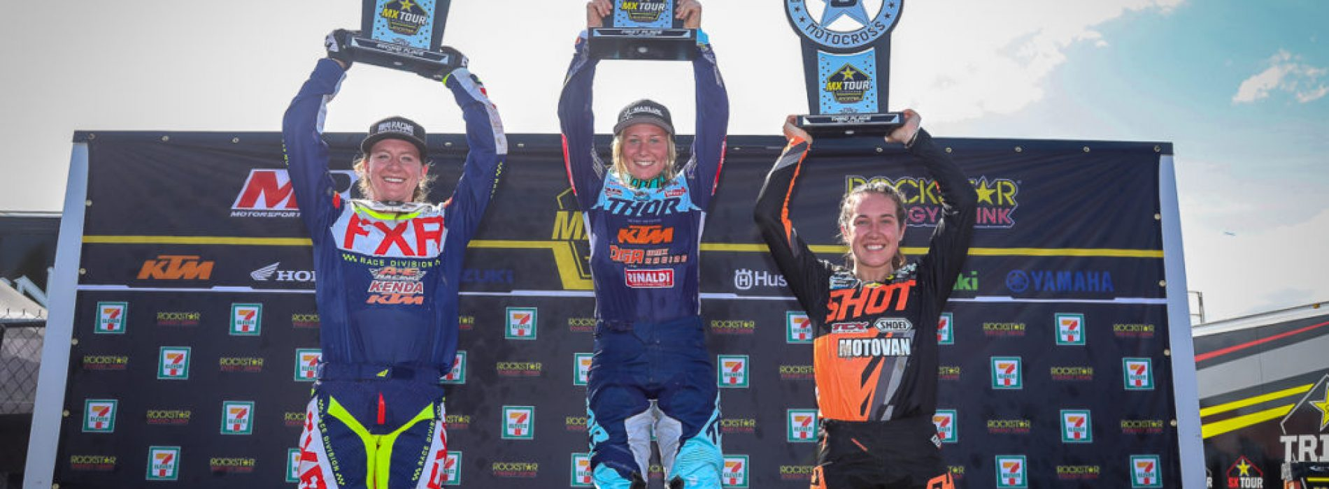 Avrie Berry- racing 3 WMX Championships in 2 continents- winning 2 so far- how does she do it?
