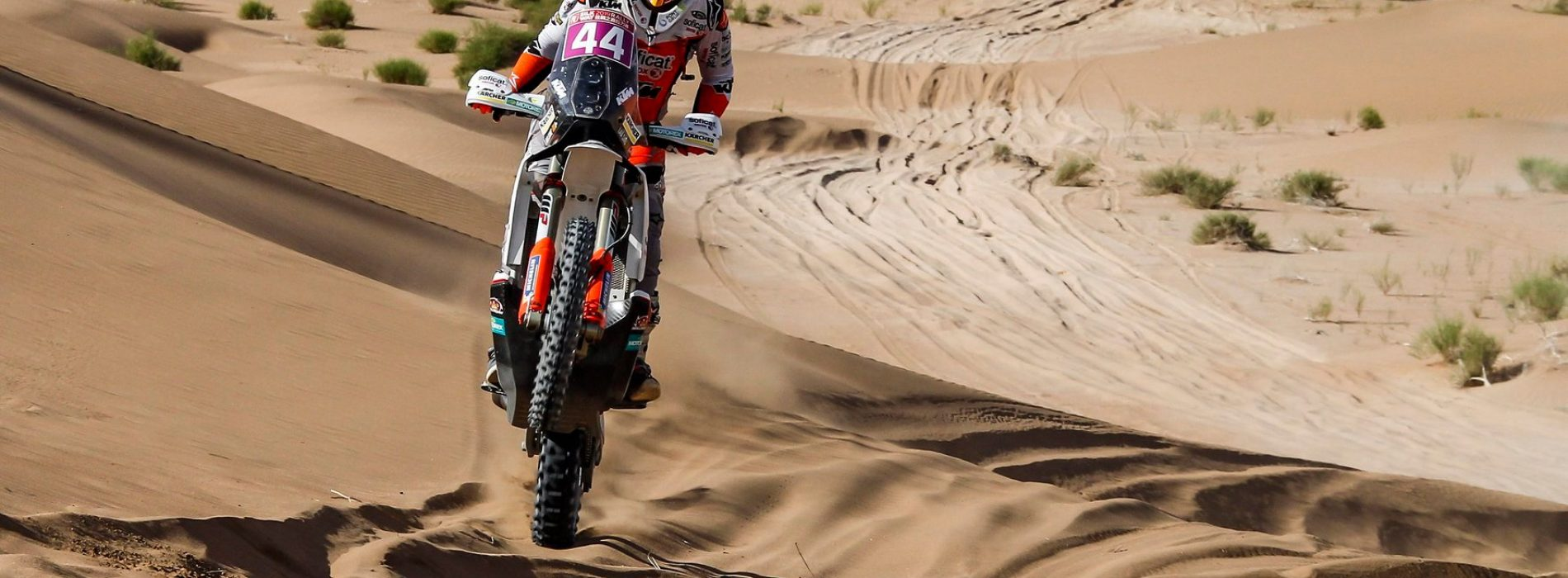 Laia Sanz finishes 7th Overall Stage 9 Silk Way Rally 2019