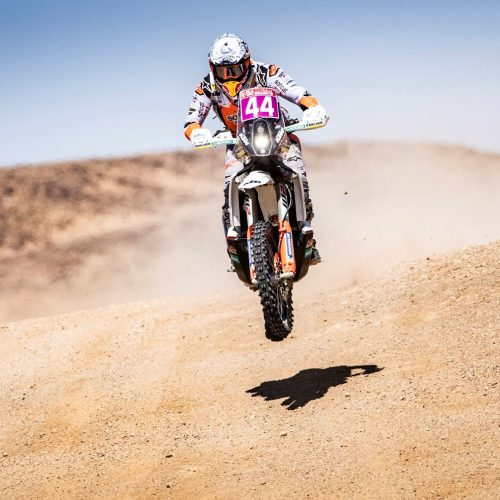 Laia Sanz 7th Overall after Stage 6 Silk Way Rally