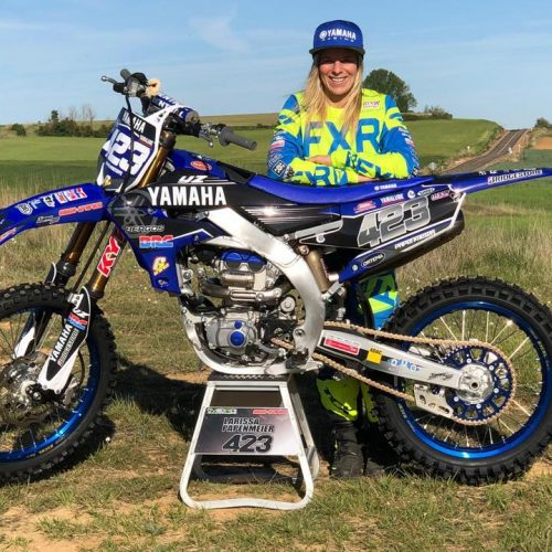 Larissa Papenmeier ready for WMX Round 3 at MXGP of Loket