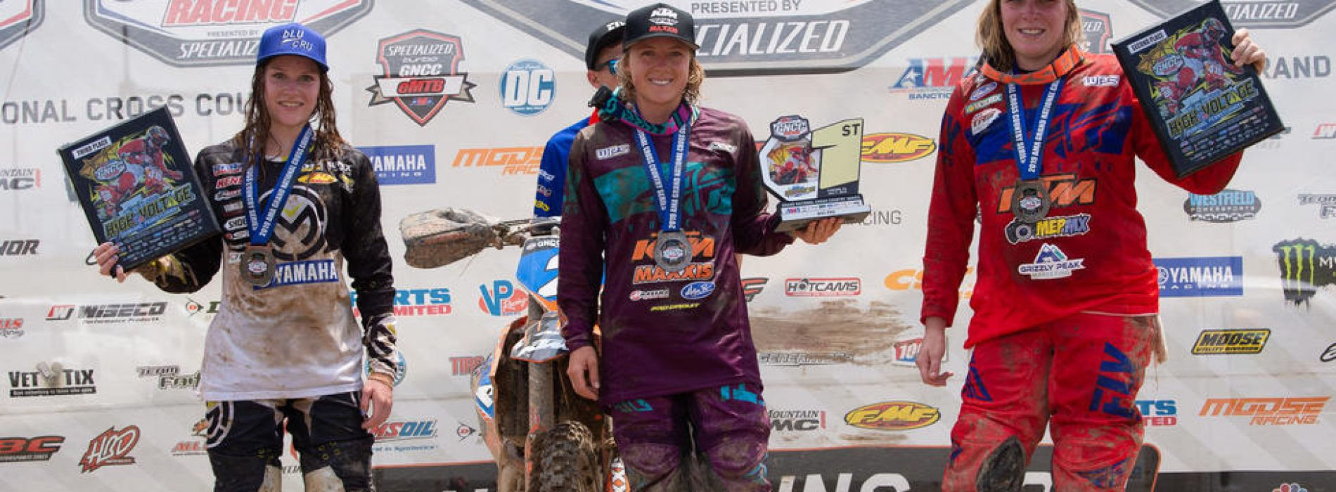 Rachael Archer gains 3rd podium at GNCC WXC Round 9- High Voltage