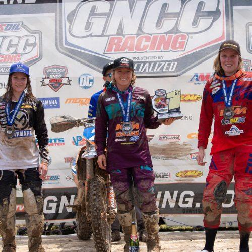 Rachael Archer gains 3rd podium at GNCC WXC Round 9- High Voltage