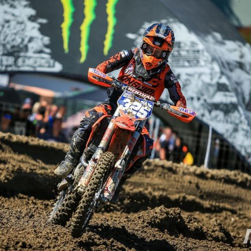 Sara Andersen showing nice turn of speed in WMX Round 4 of Italy