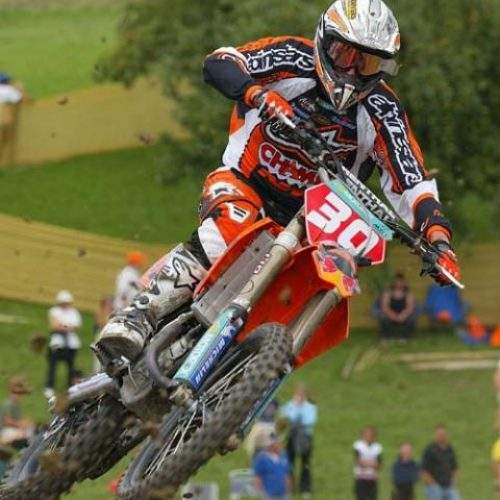 Josh Coppins, Ben Townley and Katherine Oberlin-Brown (nee Prumm) all tasted victory at Uddevalla 2005