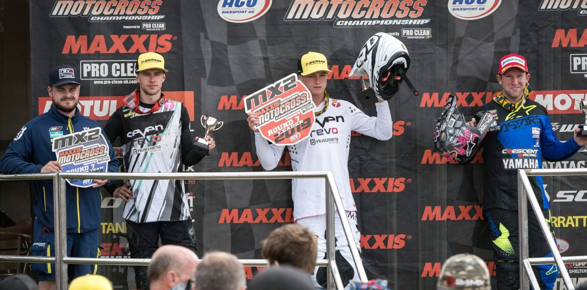 Dylan Walsh- 1-1 Maxxis British MX Championship Round 7- Red Plate by 18 points