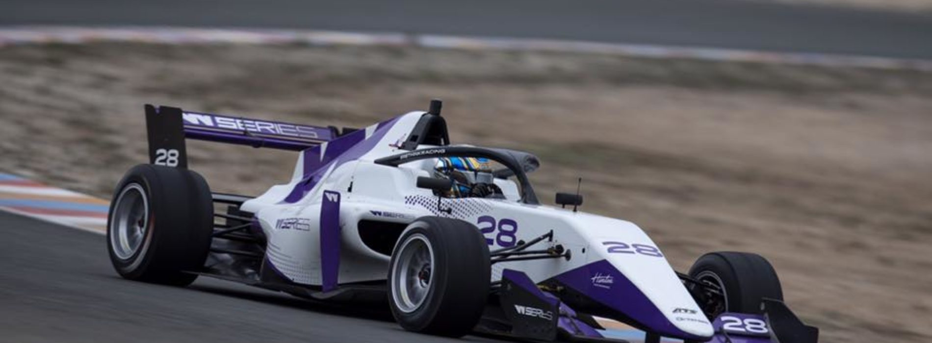Chelsea Herbert vies for selection in testing for 2020 WSeries, Almeria, Spain