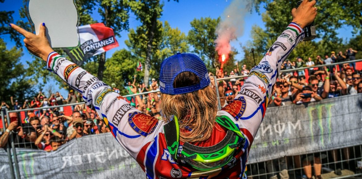 Kiara Fontanesi speaks on Women MX World Champion 6x on eve of WMX Final Round 2019