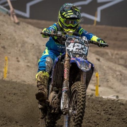 Larissa Papenmeier races MX2 at MXGP of China finishing amazing 16th in all out male class