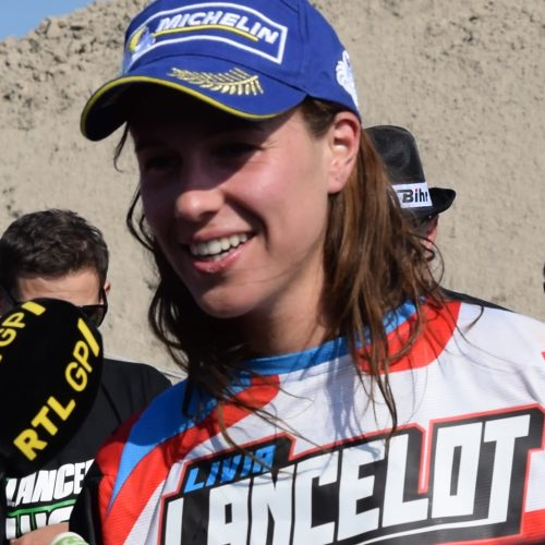 Women MX World Champion 2016 Livia Lancelot- remarkable turn in history for Kawasaki Europe