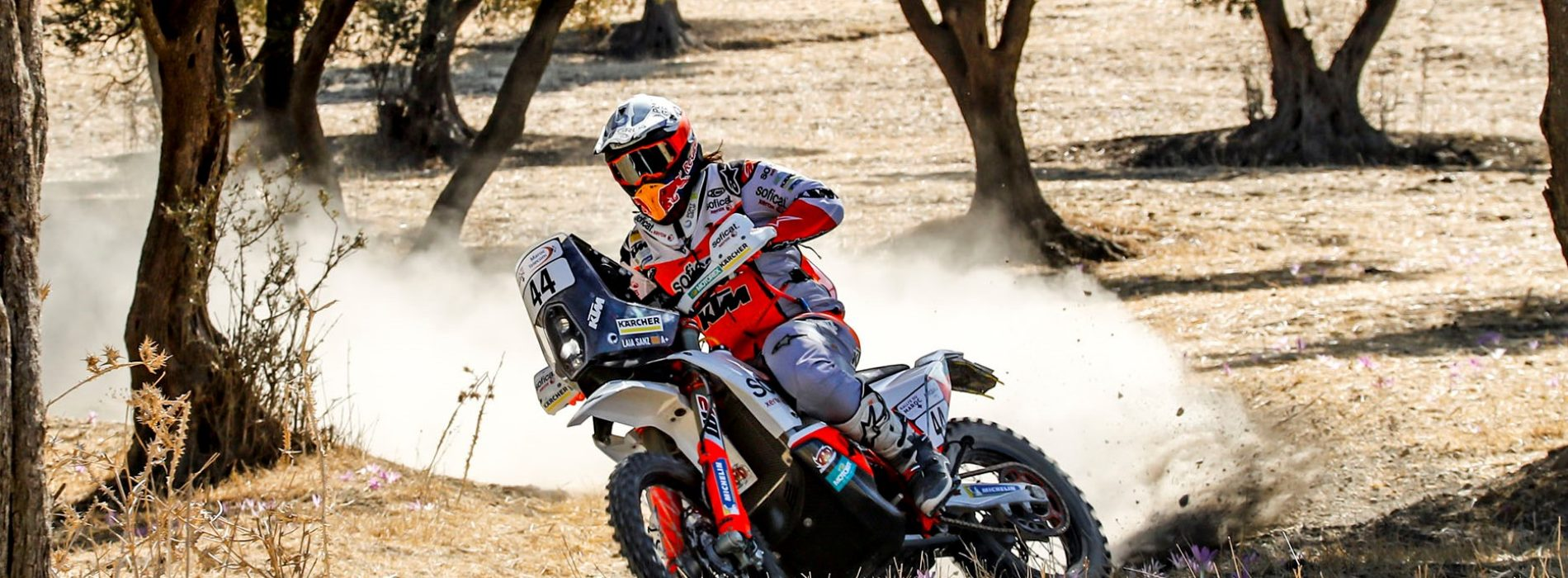 Laia Sanz racing Rally of Morocco October 4th to 9th in preparation for 2020 Dakar.