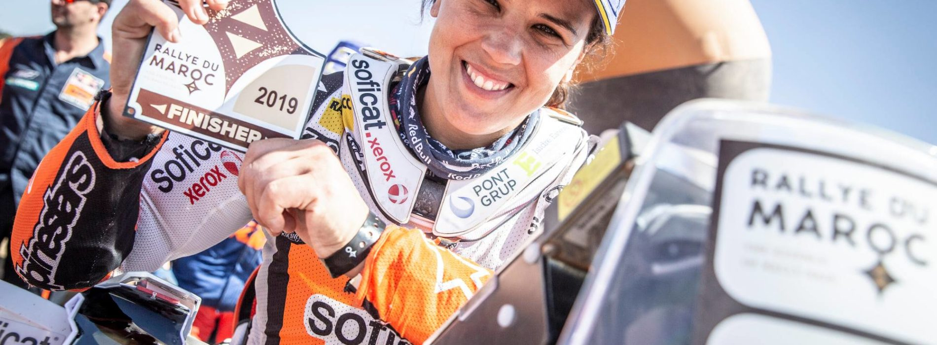 Laia Sanz wins 2019 FIM Women's Cross-Country Rallies World Championship and places 18th Overall at Rally of Morocco