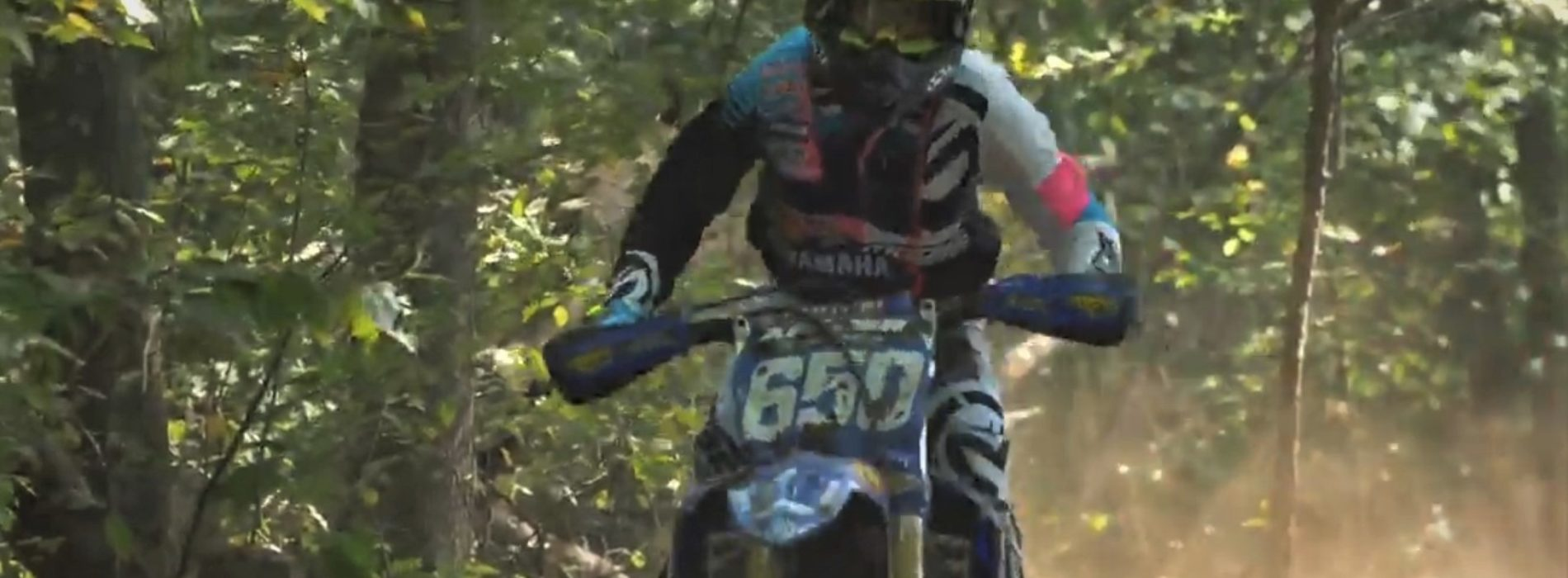 Rachael Archer races GNCC WXC Round 11 on 2020 YZ250F