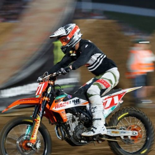 Josh Osby stepped up to plate winning Overall SX2 class at Australia Supercross Championship Round 4 in Auckland