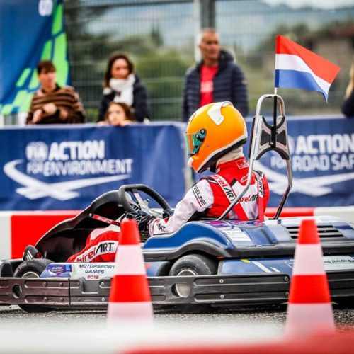 Nina Pothof achieves winning success at 2019 FIA Motorsport Games Karting Slalom – Gold Medal at 16 years of age