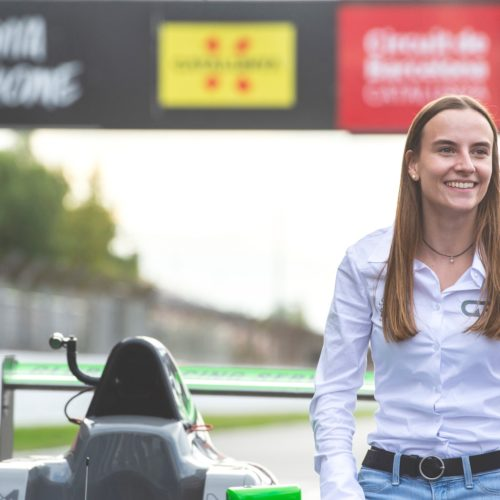 Belen Garcia achieves great success racing 2019 F4 season- celebrations heading into 2020