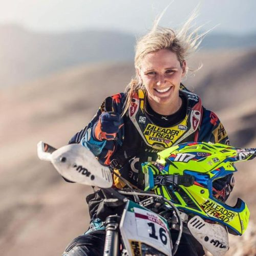 Kirsten Landman heads to Dakar Rally 2020 Bike category