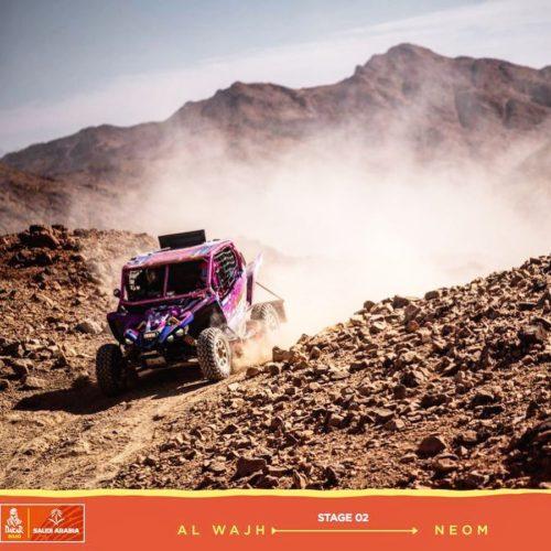 Dakar Rally SSV- Camelia Liparoti and Annett Fischer- inspiring duo