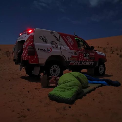 Dakar Rally 2 heroines: Sara Garcia and Fernanda Kanno- Original by Motul and Car