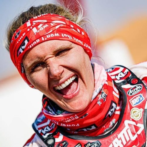 Kirsten Landman speak on racing Dakar Rally 2020