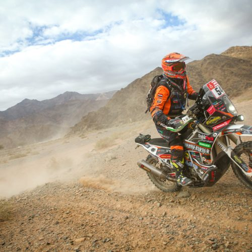 Mirjam Pol speaks on what it takes to race Dakar Rally