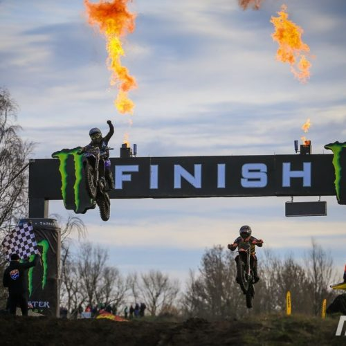 Larissa Papenmeier hits top step of podium winning WMX Round 2 at Valkenswaard