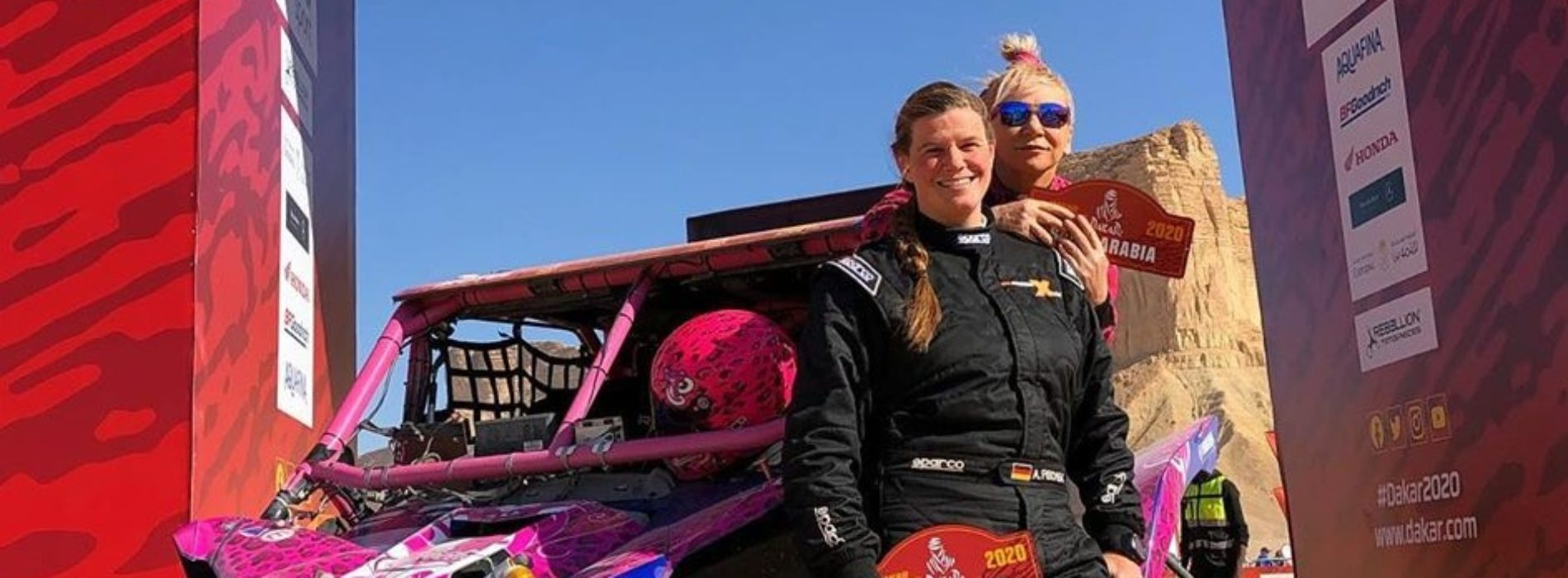 MXLink Live invites guests Camelia Liparoti and Annett Fisher- duo racing 2020 Dakar Rally SSV class