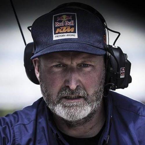 MXLink Live connecting Motorsport icons speaks with Dirk Gruebel KTM Factory Racing Team Manager
