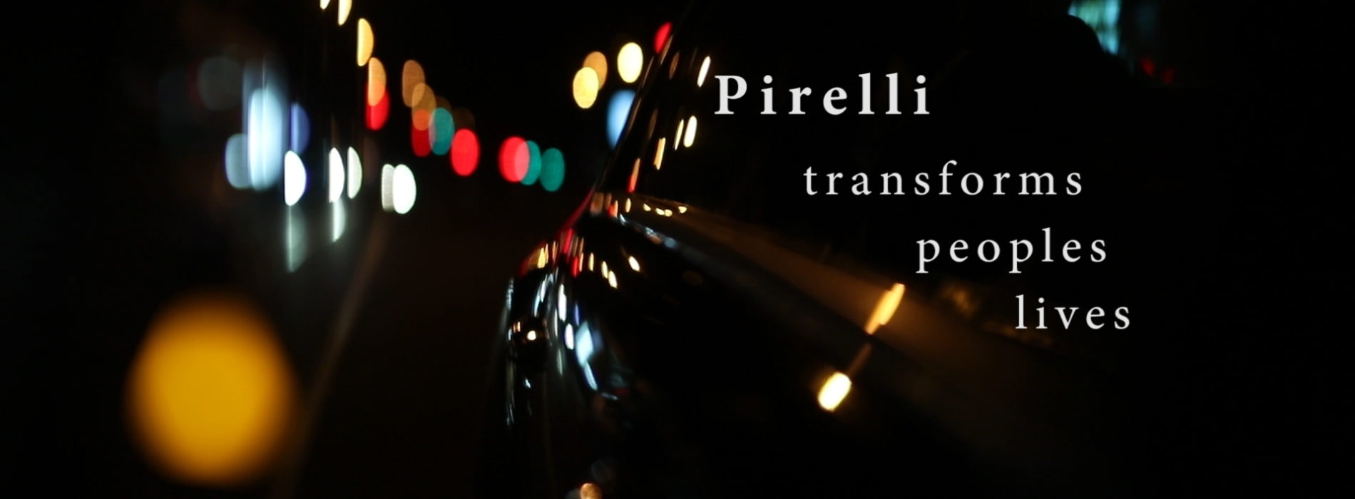 Pirelli- an iconic Brand of performance, longevity and innovation.