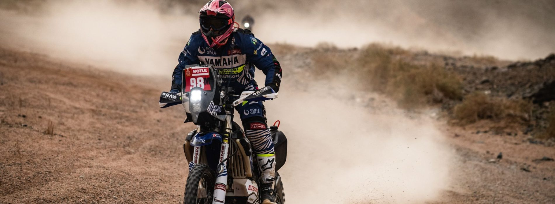 MXLink Live speaks with Sara Garcia on 'what it takes to race Dakar Rally in 'Unassisted' category