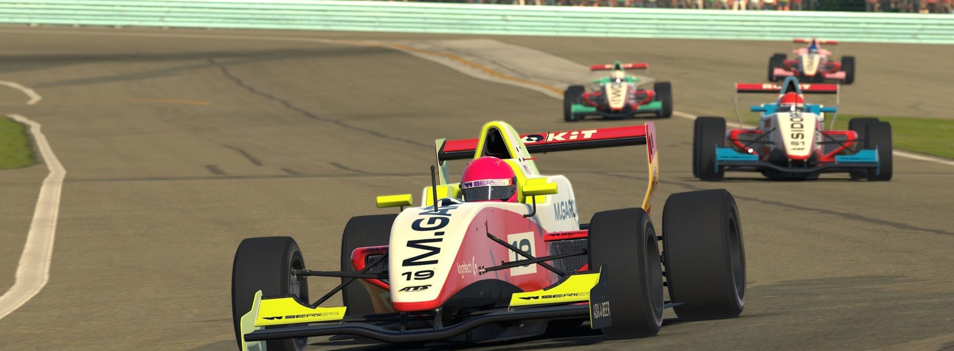 Marta Garcia proves competitive F3 driver in W Series ESports League – currently 3rd Overall